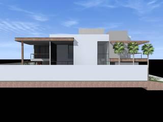 Residência M.O de Ágape Arquitetos Associados Moderno