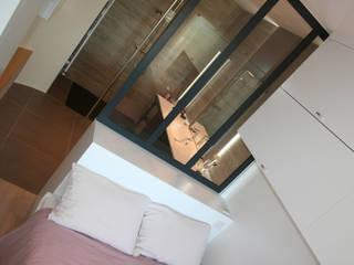 Appartement La Rochelle Chambre moderne par Atelier Nadège Nari Moderne