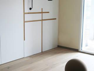 Appartement La Rochelle: Bureau de style  par Atelier Nadège Nari