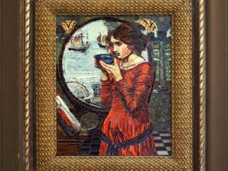 John William Waterhouse, mikromozaika, interpretacja: styl , w kategorii  zaprojektowany przez Pracownia Mozaiki M