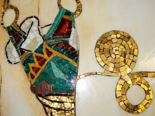 Detale z mozaiki: styl , w kategorii  zaprojektowany przez Pracownia Mozaiki M