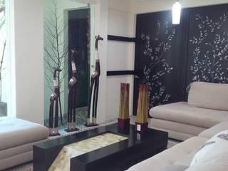 residencia: Salas de estilo  por bello diseño!,