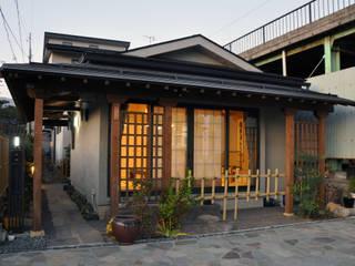 茶室のある旧北国街道小諸宿の家 (有)岳建築設計 オリジナルな 家