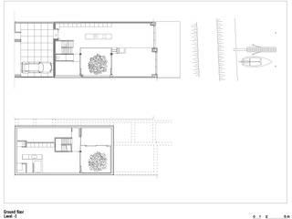 Casas de estilo minimalista de office winhov Minimalista