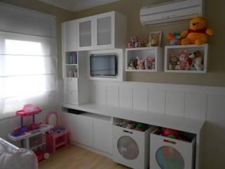 Детские комнаты в . Автор – Angela Ognibeni Arquitetura e Interiores, Модерн