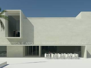 Biblioteca e Arquivo Municipal de Grândola Centros de exposições modernos por ATELIER DA CIDADE Moderno