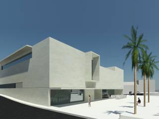 Centros de exhibiciones de estilo  por ATELIER DA CIDADE, Moderno