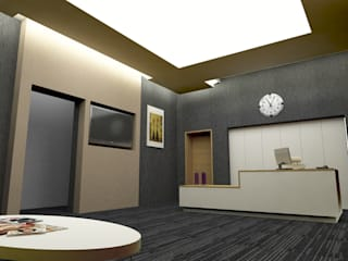 Medicine Hospital konsept tasarımı ve uygulama danışmanlığı ARCHES DESIGN Ofis Alanları & Mağazalar