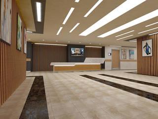 Medicine Hospital konsept tasarımı ve uygulama danışmanlığı ARCHES DESIGN Minimalist Hastaneler