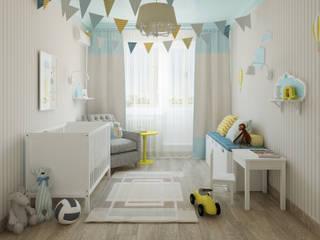 Детская для малыша: Детские комнаты в . Автор – Olesya Parkhomenko