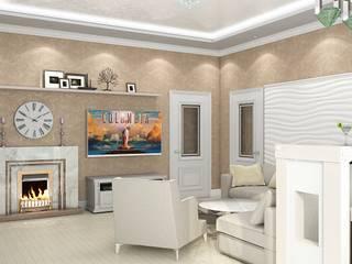 Дизайн дома 400м.кв Гостиная в классическом стиле от Дизайн студия Жанны Ращупкиной Классический