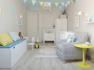 Яркая квартира: Детские комнаты в . Автор – Olesya Parkhomenko