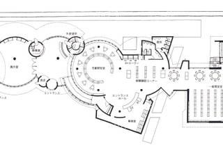 JR磐城塙駅+塙町立図書館: 伊藤邦明都市建築研究所が手掛けた和室です。,オリジナル