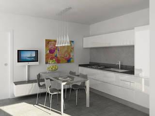 SMALL: Cucina in stile in stile Moderno di Ivan Rivoltella