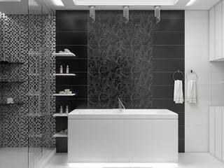 Дизайн квартиры 120 м.кв Ванная комната в стиле минимализм от Дизайн студия Жанны Ращупкиной Минимализм