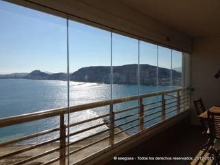Reforma en Alicante Reformas Alicante Cemar Estudios y despachos de estilo colonial Contrachapado Amarillo