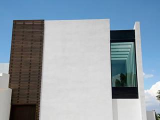 Narda Davila arquitectura บ้านและที่อยู่อาศัย ไม้ White