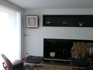 CLIMANET Salas de estilo moderno
