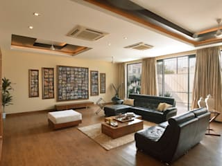 Residence Design, Rosewood City H5 Interior Design Modern living room