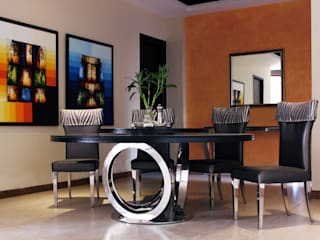 Residence Design, Rosewood City H5 Interior Design Modern dining room