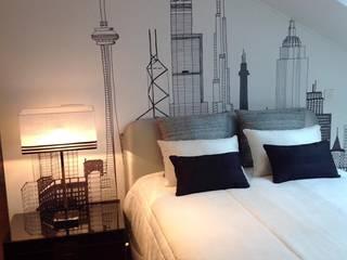 Apartamento Lisboa: Quartos  por 3L, Arquitectura e Remodelação de Interiores, Lda,Moderno