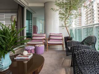 Apartamento AF Varandas, alpendres e terraços modernos por Orlane Santos Arquitetura Moderno