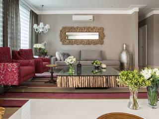 Apartamento AF Salas de estar modernas por Orlane Santos Arquitetura Moderno