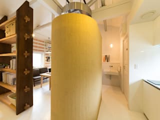 Scandinavian style bathrooms by デザインプラネッツ一級建築士事務所 Scandinavian
