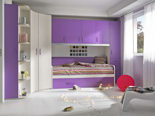 MUEBLES ORTS BedroomBeds & headboards Chipboard Purple/Violet