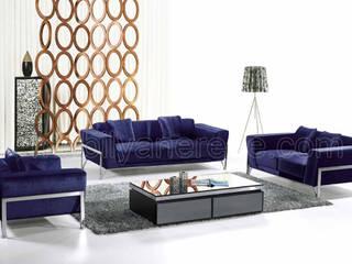 现代客厅設計點子、靈感 & 圖片 根據 Mobilya Nerede 現代風