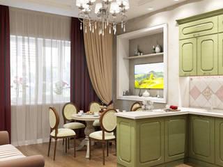 Студия дизайна Виктории Силаевой Cuisine classique Vert