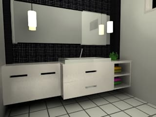 모던스타일 욕실 by GENT İÇ MİMARLIK 모던