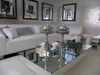 Apartamento Vila Nova de Gaia: Salas de estar  por 3L, Arquitectura e Remodelação de Interiores, Lda,Moderno