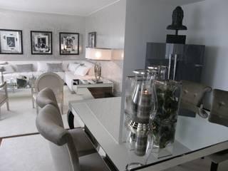 Apartamento Vila Nova de Gaia: Salas de jantar  por 3L, Arquitectura e Remodelação de Interiores, Lda,Moderno