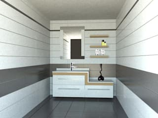 Modern style bathrooms by GENT İÇ MİMARLIK Modern