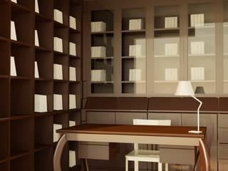 Oficinas y bibliotecas de estilo moderno de GENT İÇ MİMARLIK Moderno