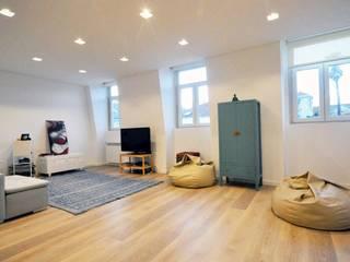 Livings modernos: Ideas, imágenes y decoración de MARQA - Mello Arquitetos Associados Moderno