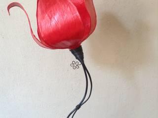 les lumières de Paupiette Living roomLighting Kertas Red