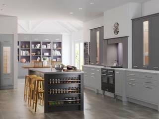 MODERN CLASSIC CADET GREY:  Kitchen by Kensington Scott