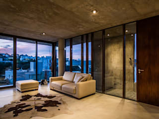 Living room by Arq. Santiago Viale Lescano, Modern