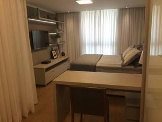 Modern style bedroom by Palloma Meneghello Arquitetura e Interiores Modern