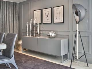 Decora Lider Salvador - Sala de Jantar Clássica e o Contemporânea Salas de jantar modernas por Lider Interiores Moderno