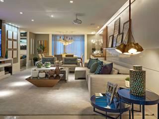 Decora Lider Vitória - Sala de estar, Home Theater e Jantar Salas de estar modernas por Lider Interiores Moderno