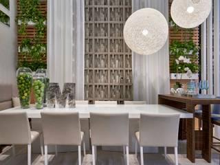 Decora Lider Vitória - Sala de Jantar e Lounge Salas de jantar modernas por Lider Interiores Moderno
