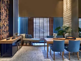 Decora Lider Vitória - Sala de Jantar Integrada à Varanda Salas de jantar modernas por Lider Interiores Moderno