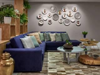 Decora Líder Vitória - Sala Descolada Salas de estar modernas por Lider Interiores Moderno