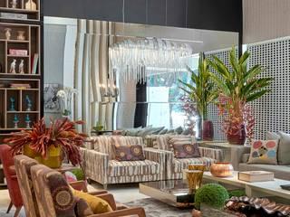 Decora Lider Vitória - Sala de Estar de Uma Mulher Cosmopolita Salas de estar modernas por Lider Interiores Moderno