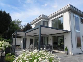 Textile Sonnenschutz- Technik JardinClôture & murs Aluminium/Zinc Beige