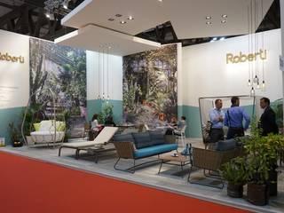 Andrea Gaio Design Diseño de ferias de estilo mediterráneo