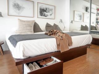 MeMo arquitectas Modern style bedroom